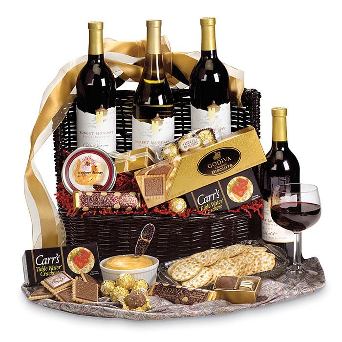 Mondavi Wine, Godiva Chocolate Gift