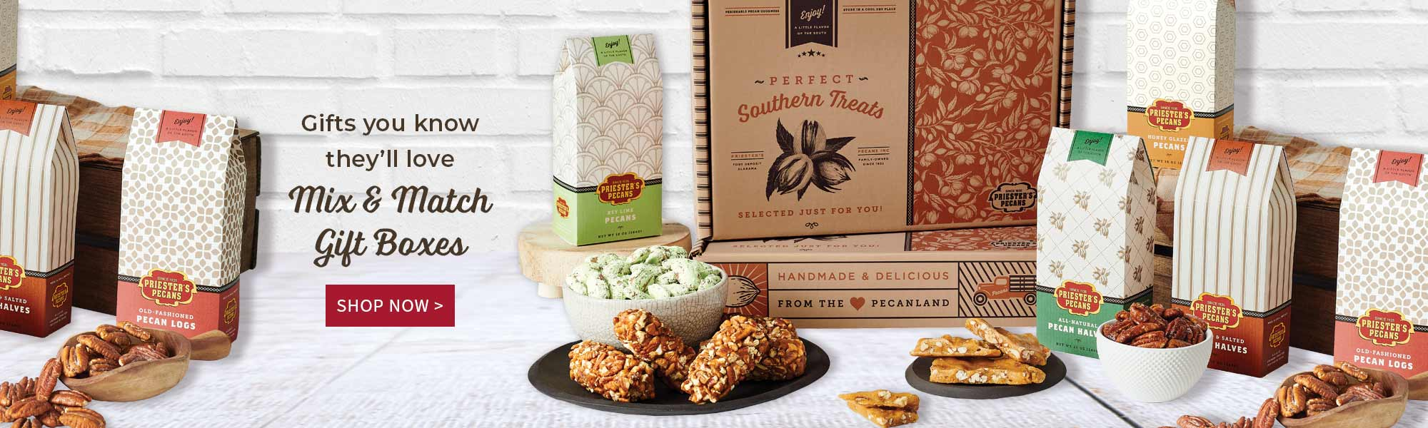 Gifts you know they'll love - Mix & Match Gift Boxes