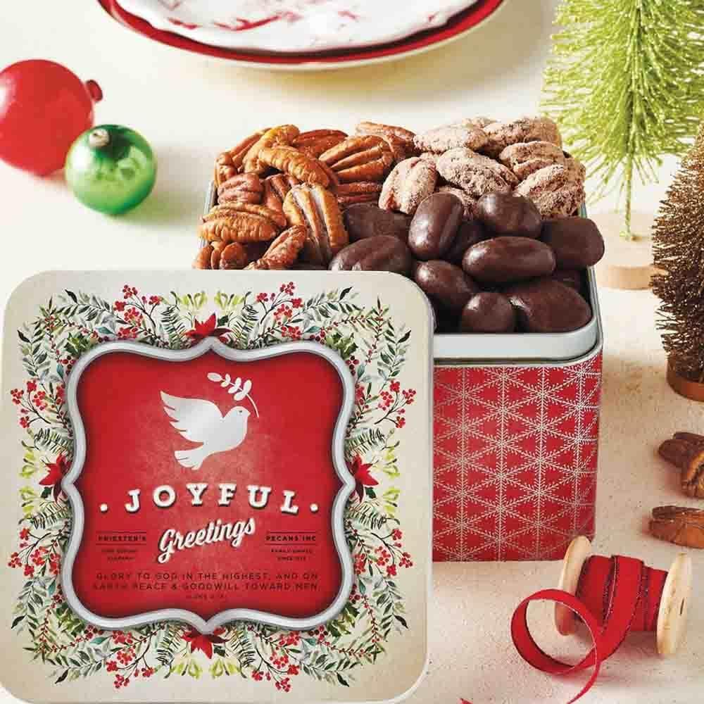 Joyful Greetings Gift Sampler Tin