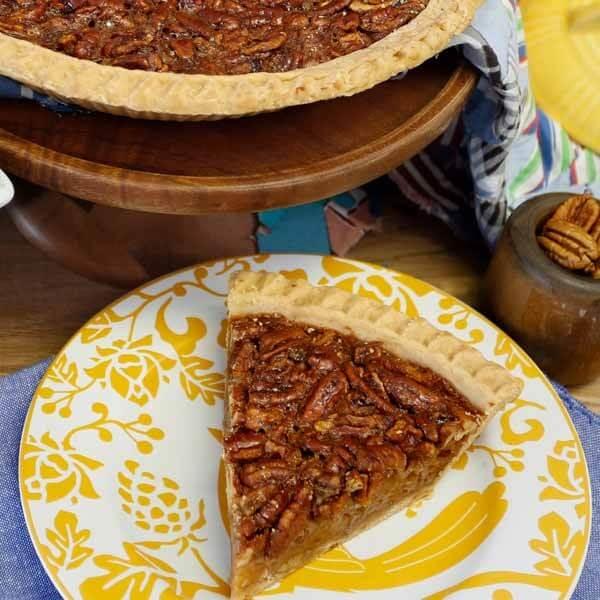 "Not Quite Perfect - Pecan Pies - 2 -9"" Pies"