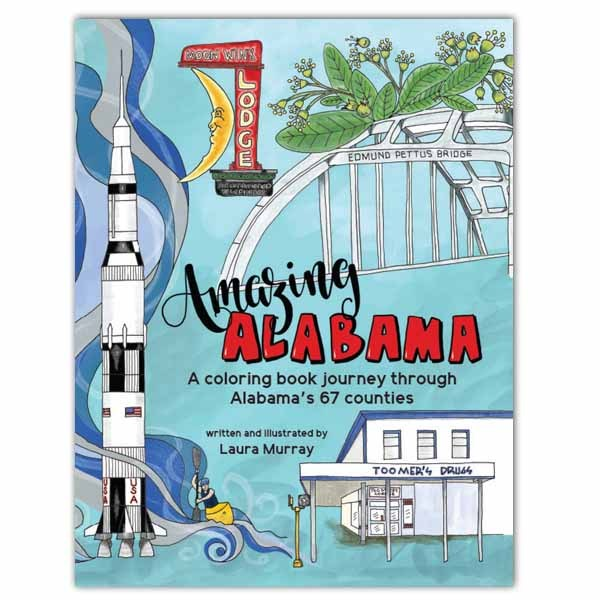Amazing Alabama Coloring Book