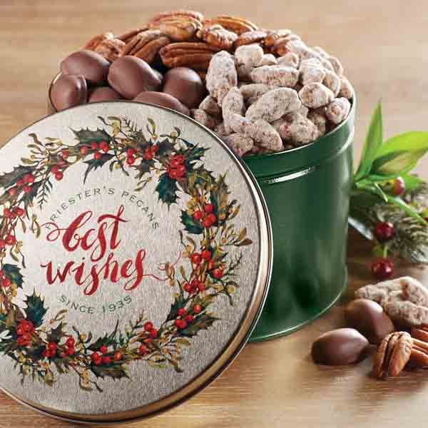 Warmest Wishes Pecan Snack Tin