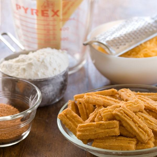 Betsy's Hot Classic Cheese Straws