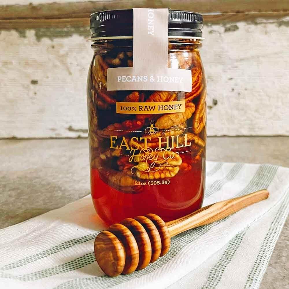 East Hill Honey Co. - Pecans & Raw Honey