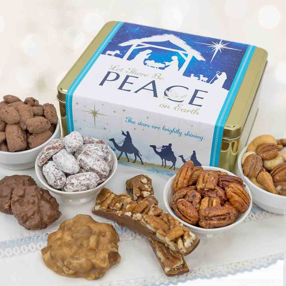 Peace on Earth - Gift Tin Sampler
