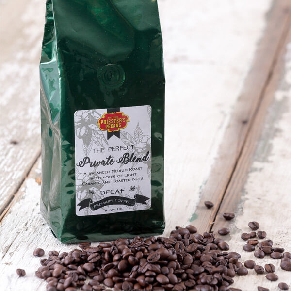 Priester's Private Blend Coffee - DECAF - 1 lb. Ground