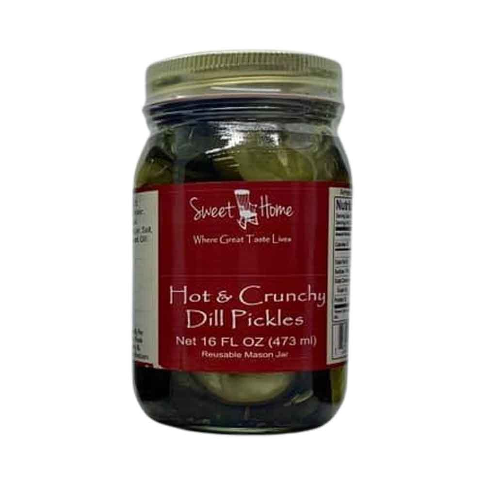 Sweet Home Hot and Crunchy Dill Pickles