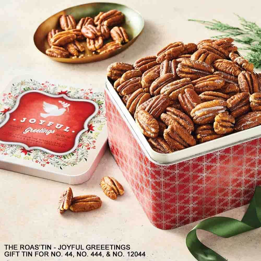The Pecan Roas'tin - Christmas Gift Tin