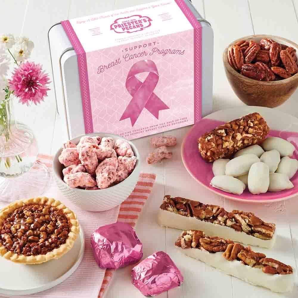 Think Pink Gift Tin - Give Hope. Raise Awareness.