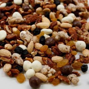 Blueberry Nut Crunch Snack Mix