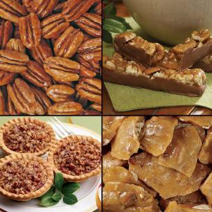 Candies and Baked Goods (Economy Packs) - Honey Glazed Pecans (Economy Pack)