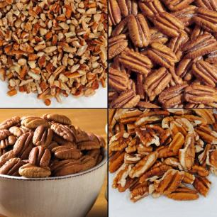 Pecans and Nuts (2 lbs. Economy Packs) - Roasted/Salted Cashews (Economy Pack)