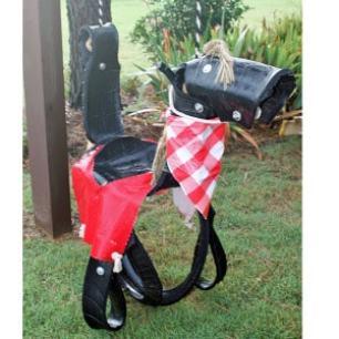 Pony Horse Tire Swing