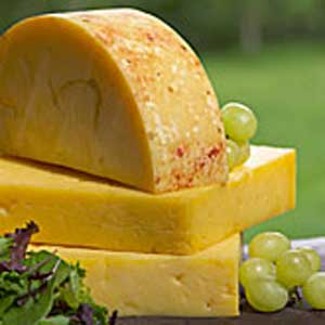 Smoked Organic Dunlop Cheddar - 8 ounce portion