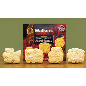 Animal Shapes Shortbread from Walkers