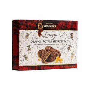 Orange Royals Chocolate Shortbread - 5.3 oz. box