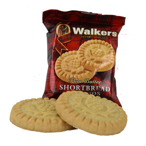 Walkers Shortbread Rounds - pack of 2