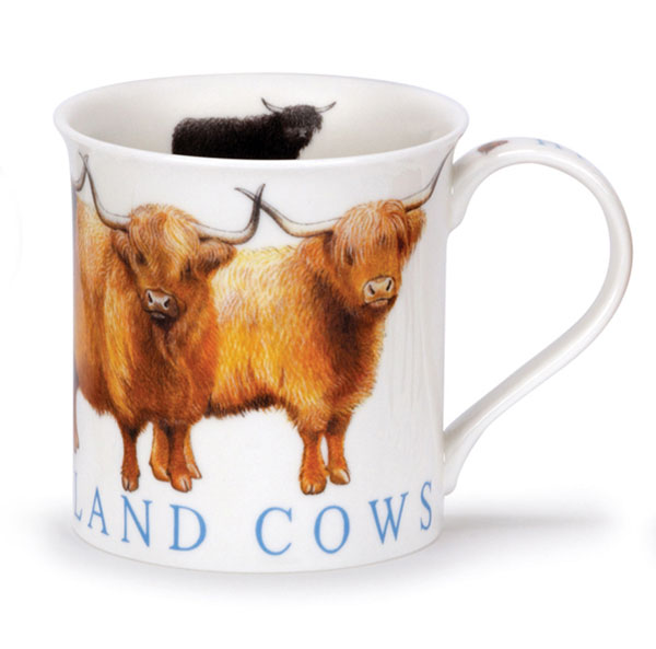 Highland Cow Mug - Bute Shape from Dunoon