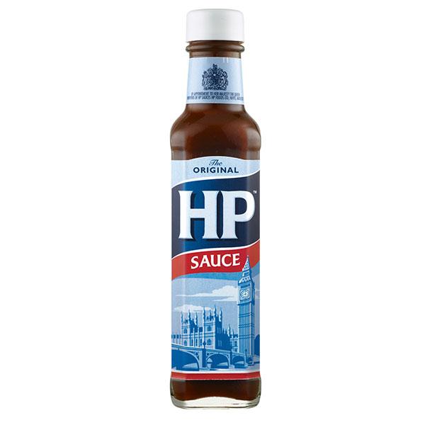 HP Sauce - 8.99 oz  glass bottle