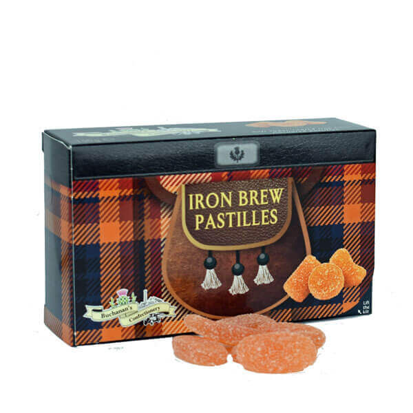 Iron Brew Pastilles in Kilted Box