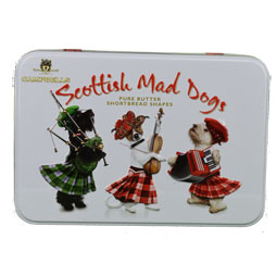 Mad Dogs Shortbread Tin from Campbells