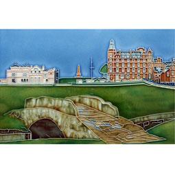 St. Andrews Swilkin Bridge 12 by 8 Tile