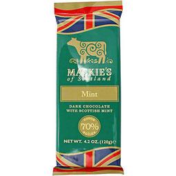 Mackie's Mint Dark Chocolate Bar 4.2 oz.