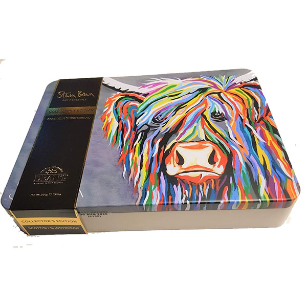 Maggie McCoo Assorted Shortbread Tin from Deans