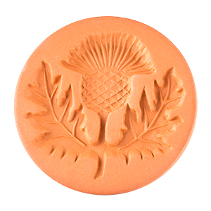 """Thistle Cookie Stamp 2"""""""
