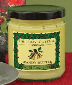 Brandy Butter 7.5 oz. jar