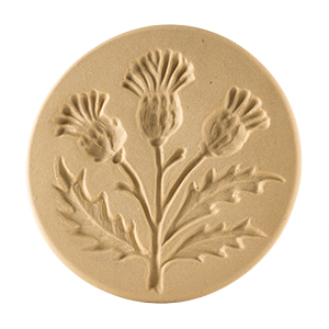 """SOLD OUT Thistle Cookie Stamp 3"""""""