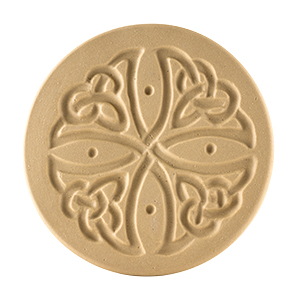 """Celtic Cross Cookie Stamp 3"""""""