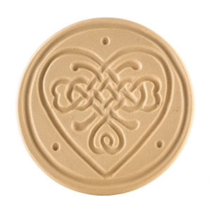 """Celtic Knot Heart Cookie Stamp 3"""""""