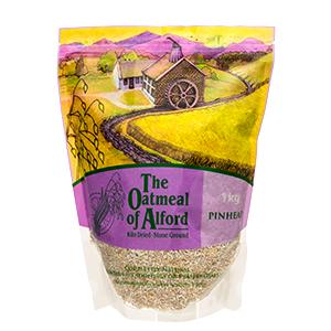 Pinhead Oatmeal from Alford - Organic & Gluten Free