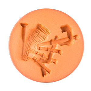 Bagpipe Cookie Stamp 2