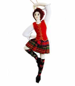 Highland Dancer Ornament