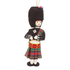 Highland Drummer Ornament