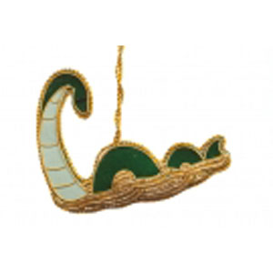 Loch Ness Monster Felt Ornament