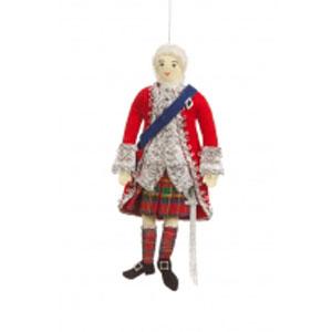 Bonnie Prince Charlie Ornament