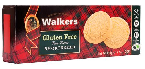 Gluten Free Shortbread Rounds from Walkers