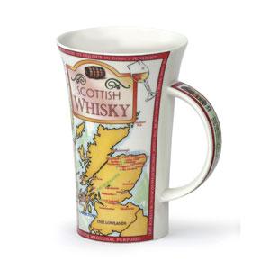 Scottish Whisky Oversized Bone China Mug