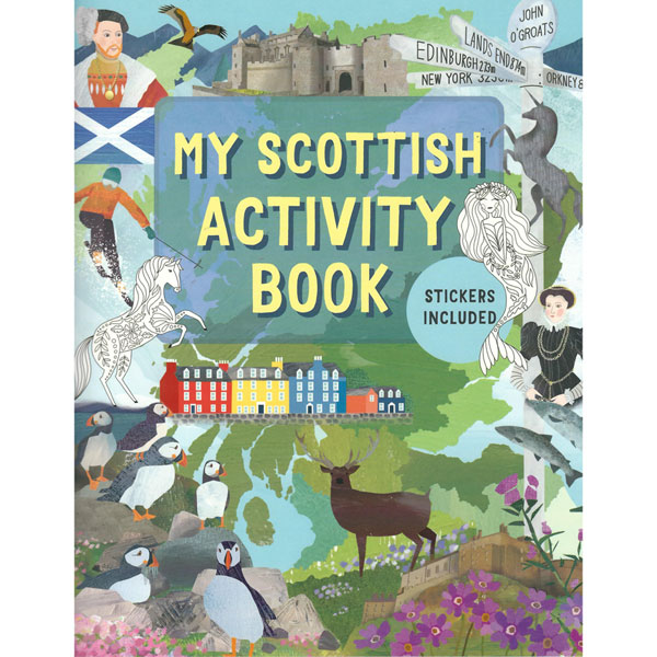 Scottish Activity Book