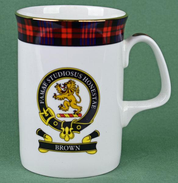 Brown Clan Mug
