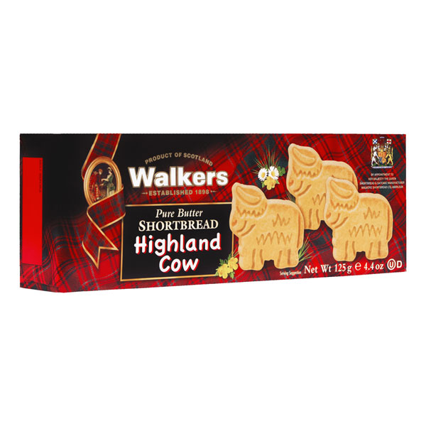 Highland Cow Shortbread Box from Walkers