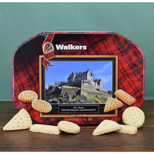 Edinburgh Castle Shortbread Tin from Walkers
