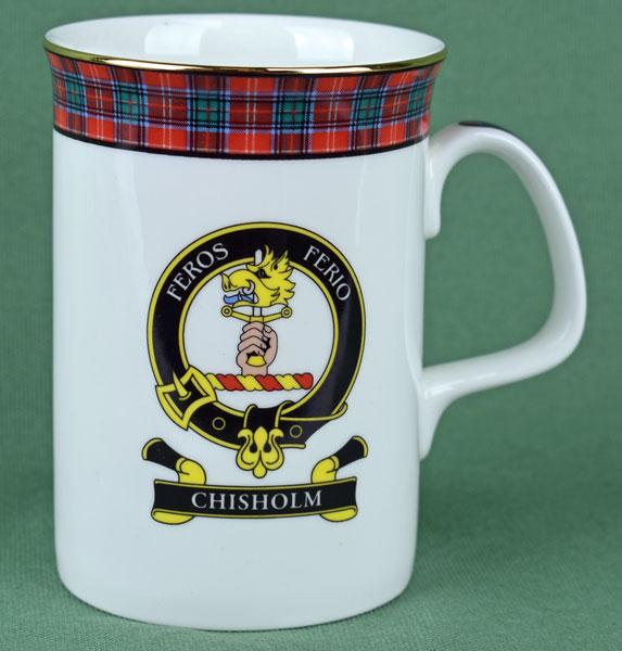 Chisholm Clan Mug