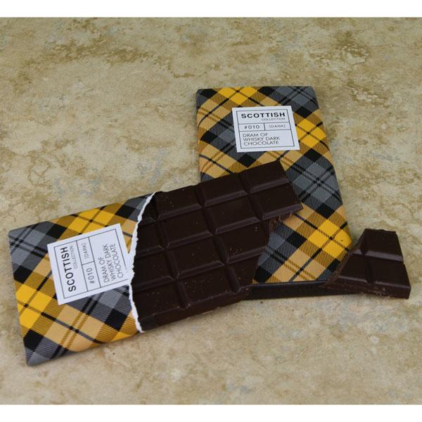Dram of Whisky Dark Chocolate Bar - 3.5 oz.