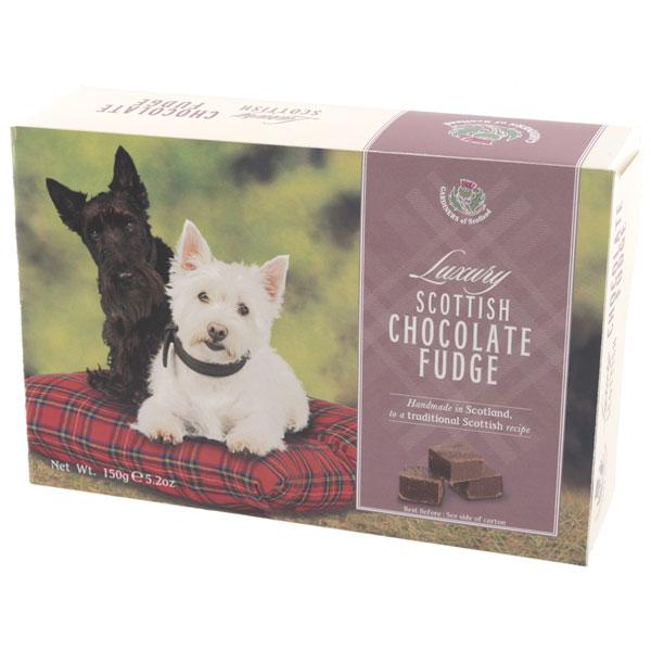Chocolate Fudge in a Scottie Box