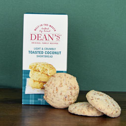 Dean's Toasted Coconut Shortbread Rounds