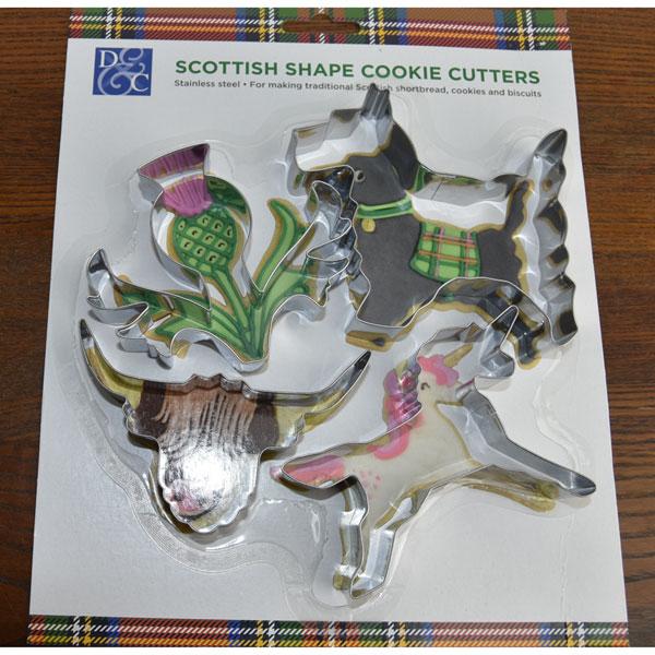 Scottish Cookie Cutter Set